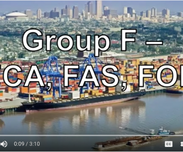 Incoterms Definitions FCA, FAS, FOB – Universal Shipping News