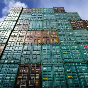Port of Oakland shipping container surge