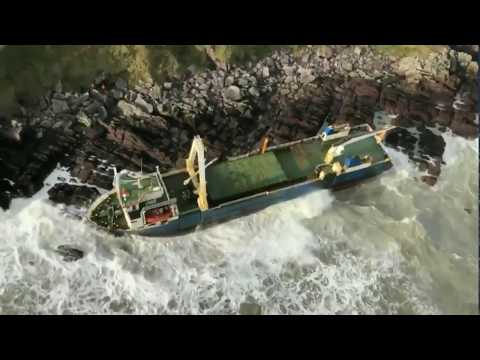 'Ghost Ship' Washes Up in Ireland