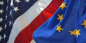 Picture: Flickr — US and EU Flags by openDemocracy