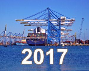 2017 international shipping predictions