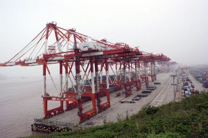 Picture of Port Yangshan by Bruno Corpet