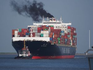 Container Ship Emissions
