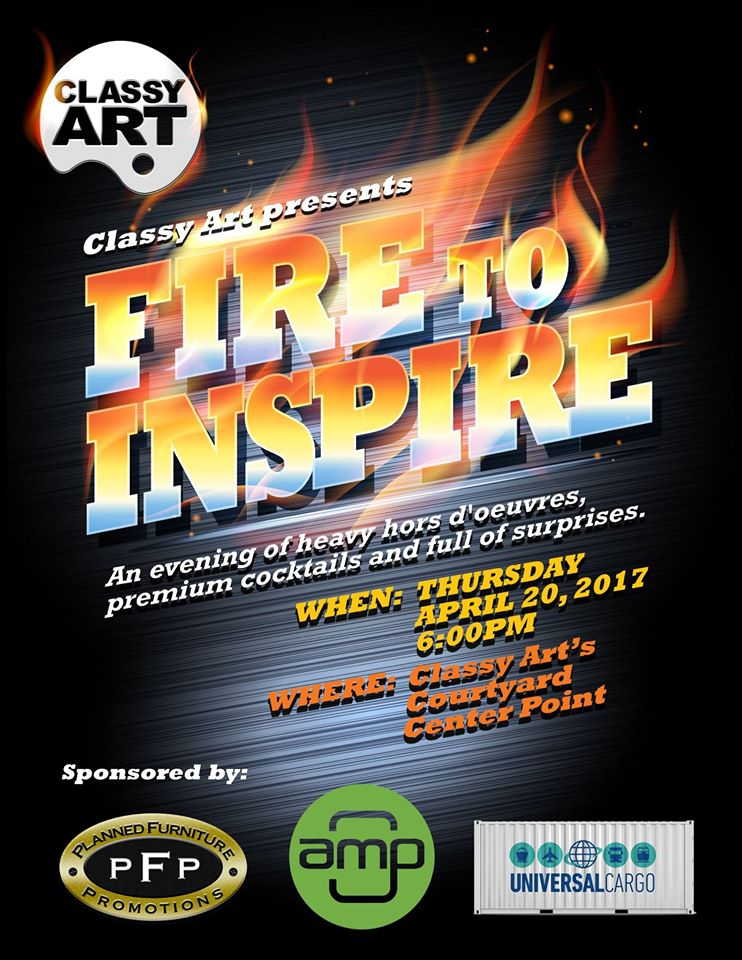 Universal Cargo Sponsors Fire to Inspire Party at High Point Market