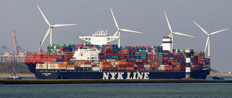 Could This Container Ship Be the Biggest Thing to Hit Transpacific Shipping?