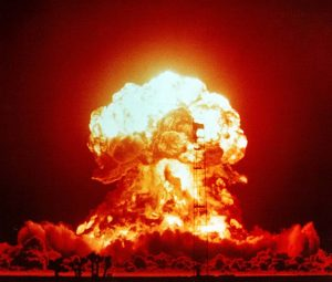 Nuclear Explosion courtesy of National Nuclear Security Administration