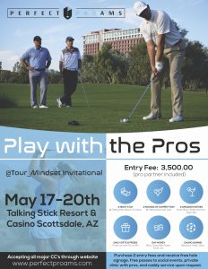 Play with a pro Golf Pro Am front