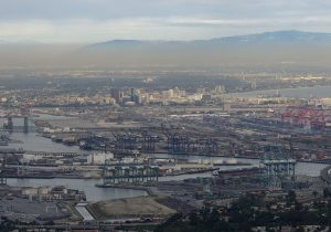 Port of Los Angeles Smog