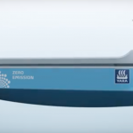 1st automated, electric, emission free container ship by Yara International & Kongsberg Gruppen