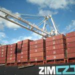Container Ship Zim Virginia