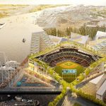 A's new stadium at Port of Oakland's Howard Terminal