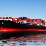 cargo ship internationa shipping