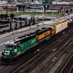 cargo train BNSF