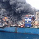Cargo Insurance for lost shipping containers on burning ship