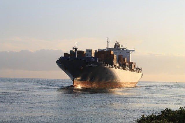 Handling ocean shipments.