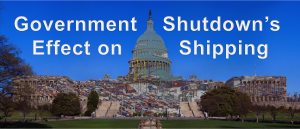 Government Shutdown's Effect on Shipping