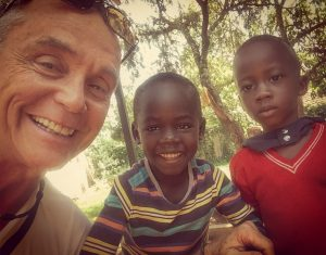 Devin and Uganda Youth