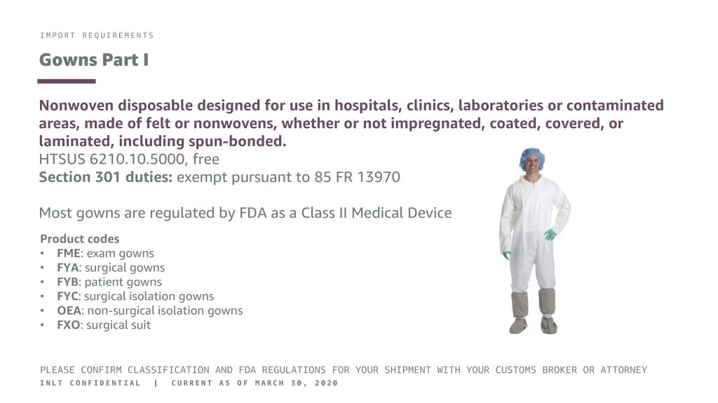 INLT Pandemic Supplies Webinar Gowns 1