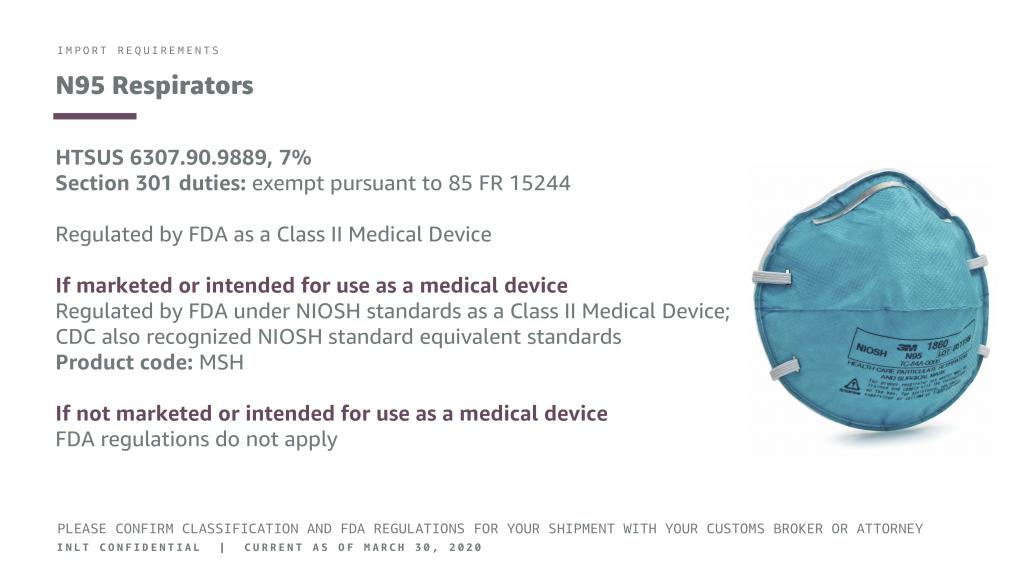 INLT pandemic supplies webinar n95 respirators