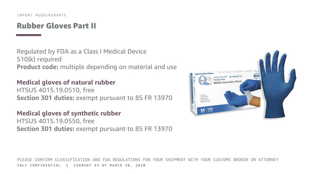INLT Pandemic Supplies Webinar Rubber Gloves 2