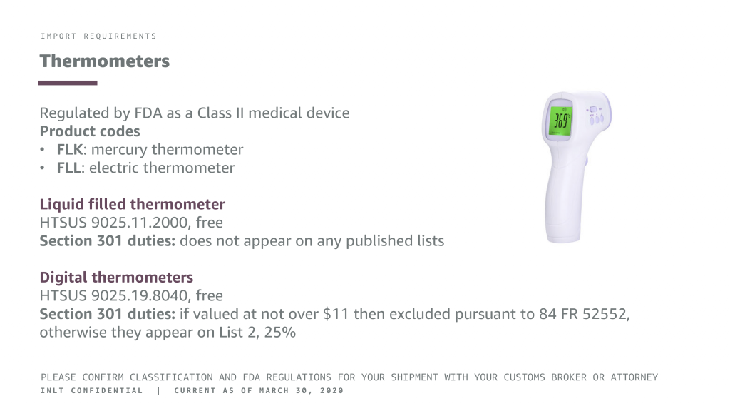 INLT Pandemic Supplies Webinar Thermometers