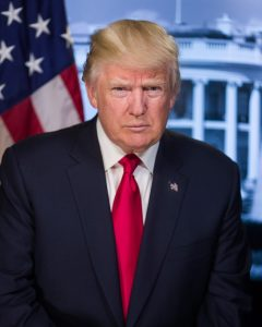 President Trump from Library of Congress