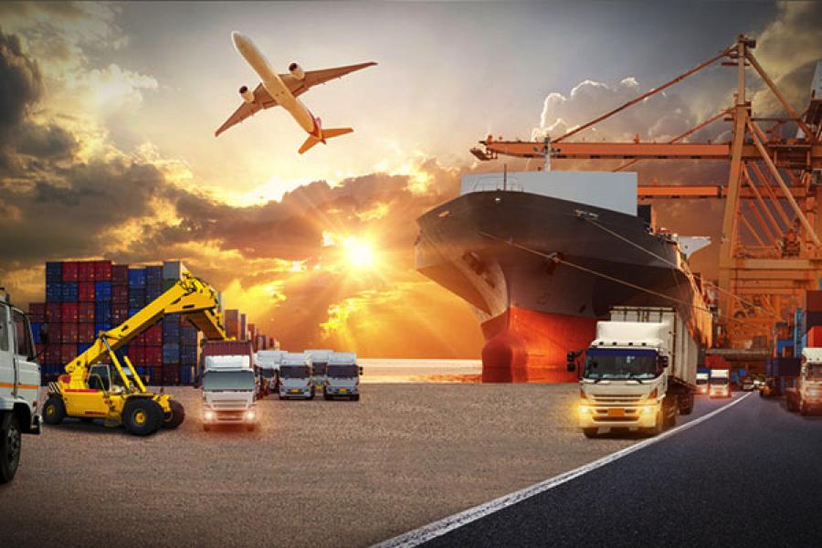 logistics supply chain international shipping
