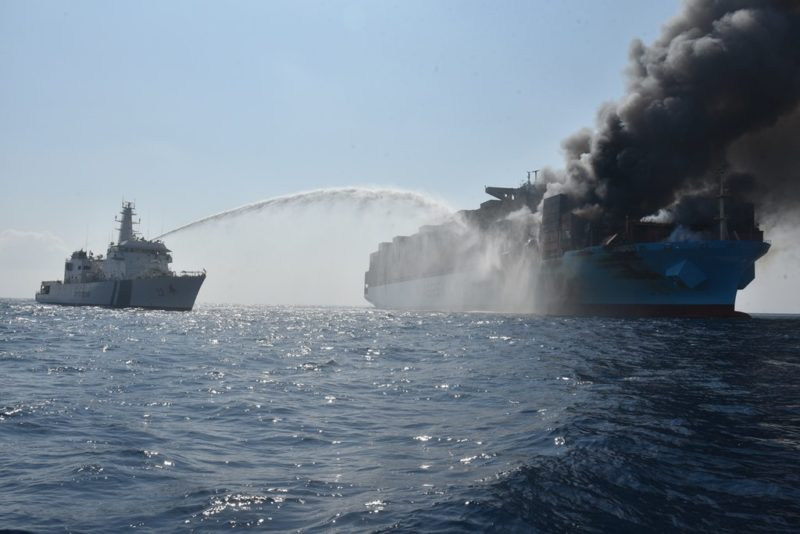 Maersk Megaship Fire Update Missing Crew Remains Found Search - Maersk invoice tracking