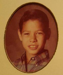 Gerardo Michael Juarez as a child
