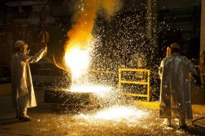 Steel Plant U.S. steel tariffs