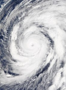 Super Typhoon Hagibis NASA image
