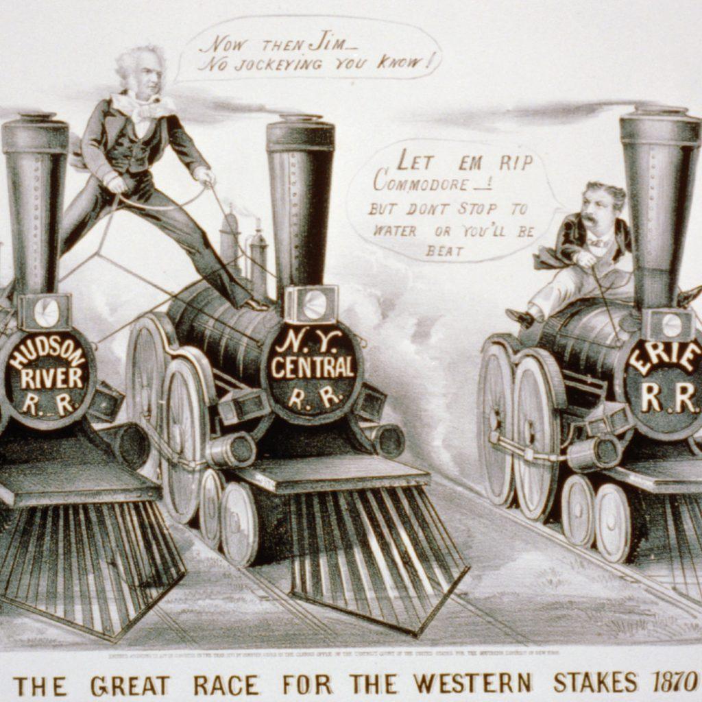 an illustration of three steam machines