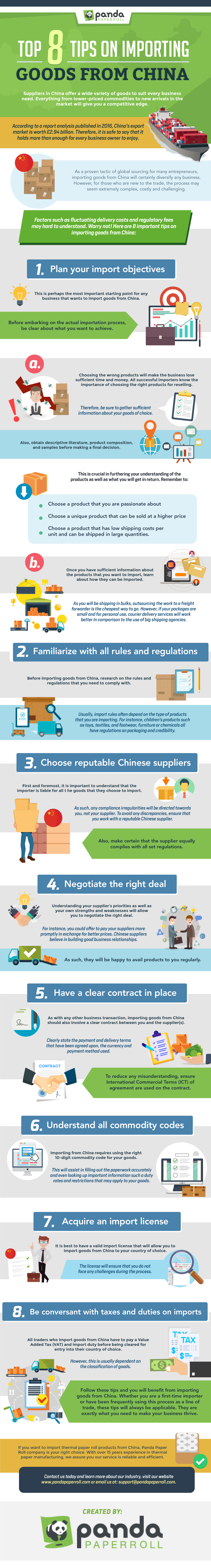 Top 8 Tips On Importing Goods From China (Infographic