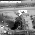 U.S.satellite image drone attack on saudi arabian oil facility